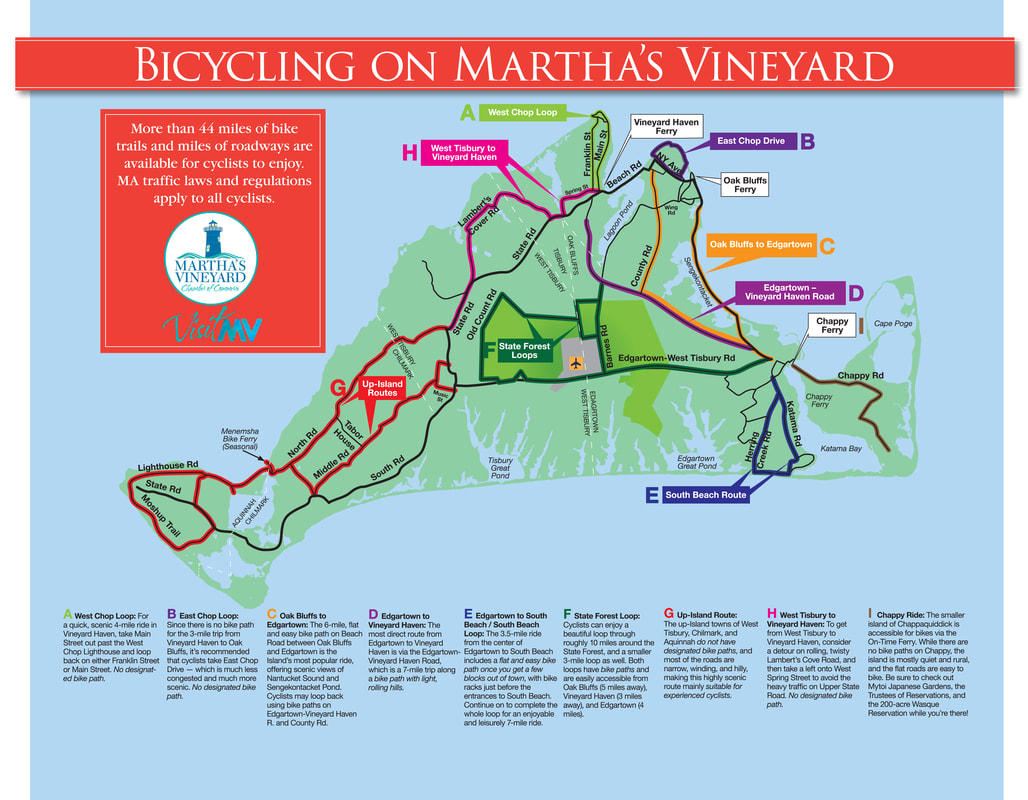 Bicycling Martha\'s Vineyard - Martha\'s Vineyard Chamber of ...
